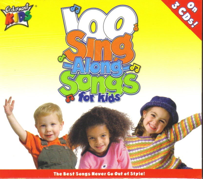 100 sing along songs by cedarmont kids
